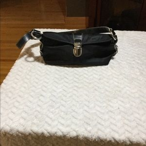 Small black canvas Kenneth Cole Reaction purse